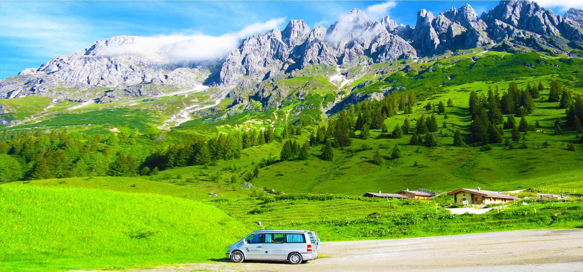 Geführte Wohnmobil Reise Alpen